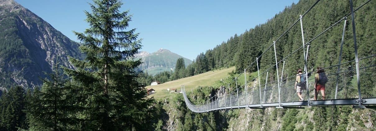 Hängebrücke in Holzgau