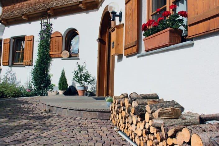 Ferienwohnung Sonja - Hauseingang