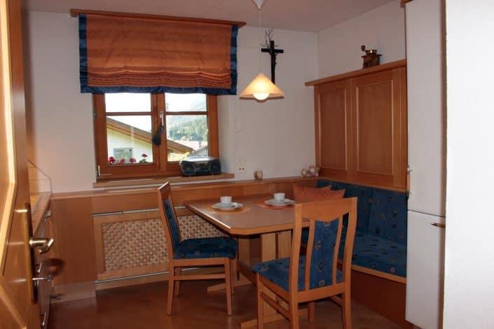 Ferienwohnung Sonja - Küche Essbereich