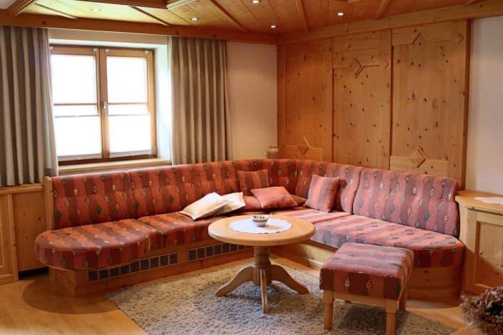 Ferienwohnung Sonja - Wohnzimmer mit Wohnlandschaft