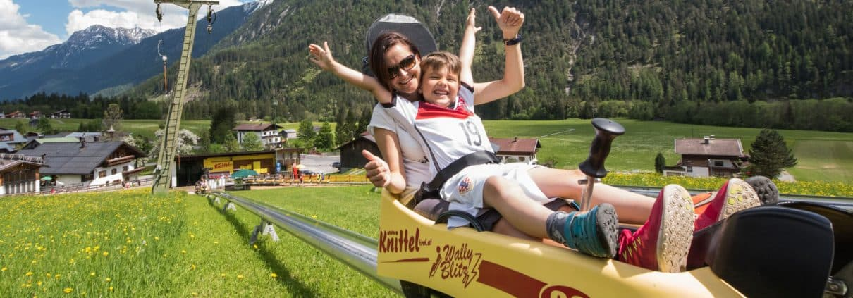Sommerrodelbahn Wally Blitz im Lechtal